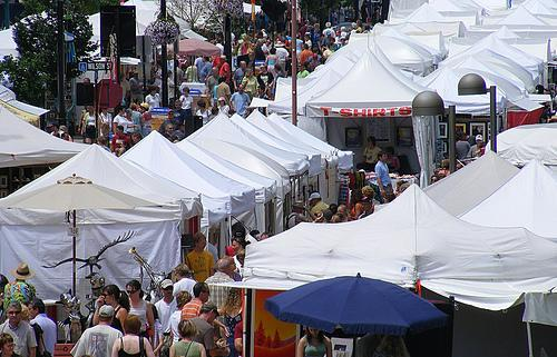 The Las Olas Art Fair